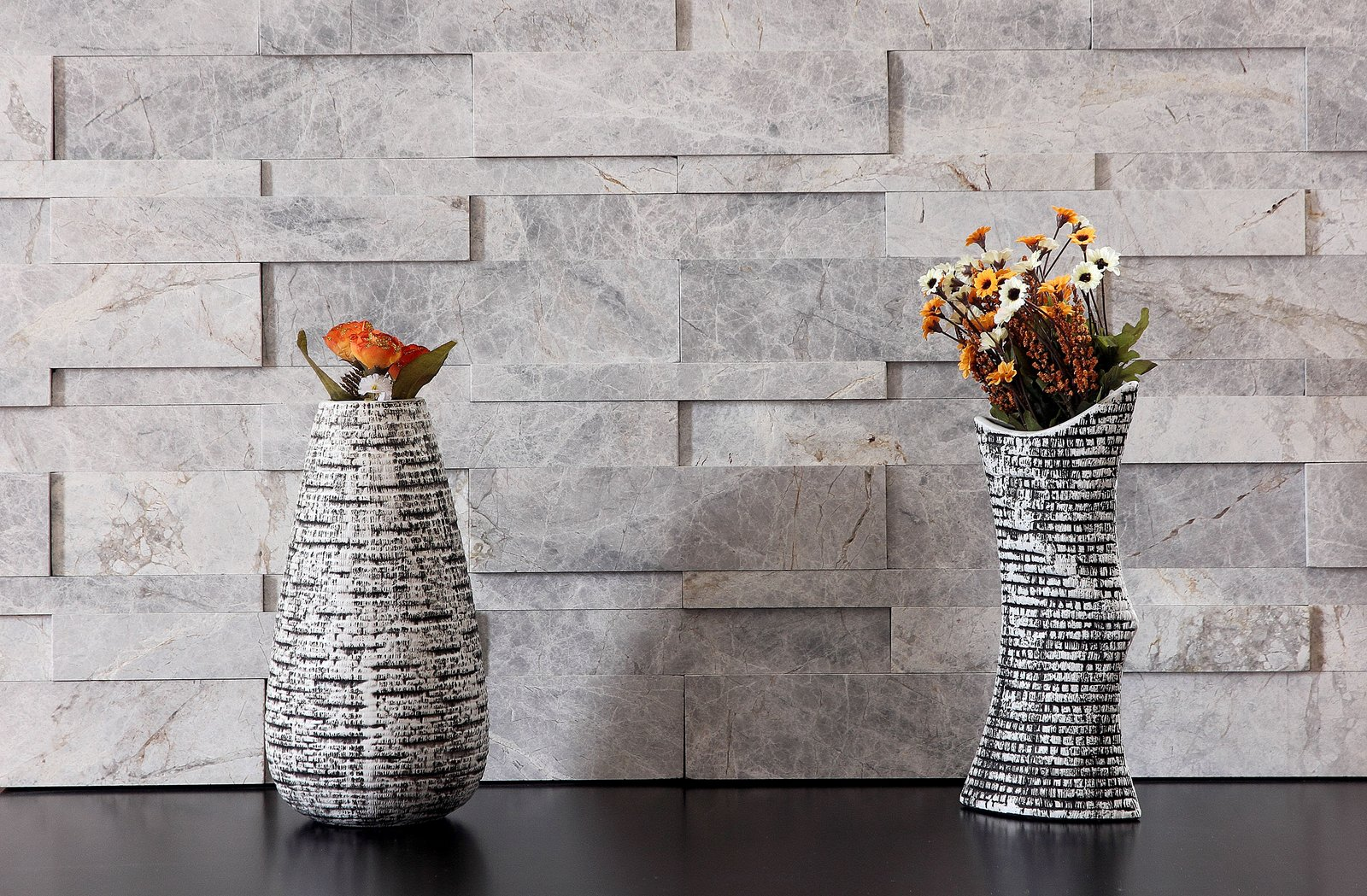 Stone marble granite exterior wall cladding view cladding wall - Gallery Of Valensa Grey Marble D Espace Wall Cladding With Marble Wall Cladding Designs